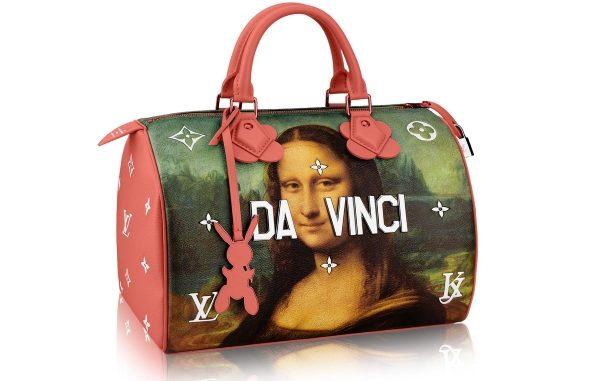 Louis Vuitton припечатал логотипами картины классиков насумках