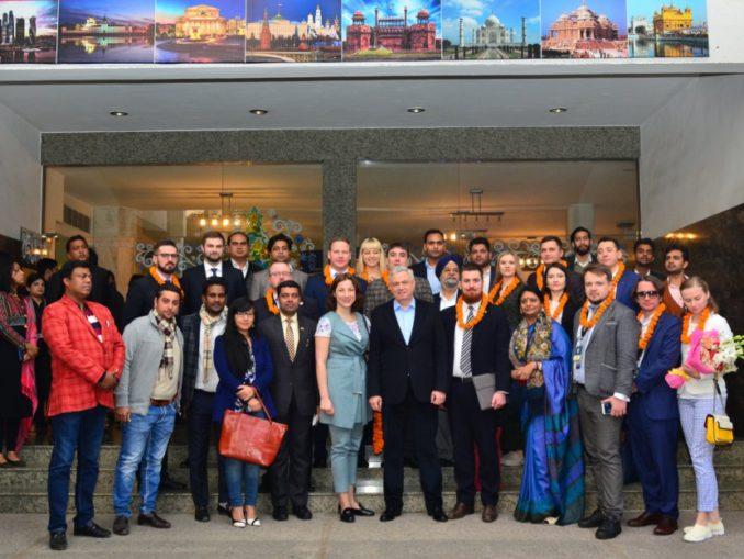 Делегация Российского Союза Молодежи посетила Индию