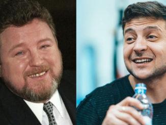 Михаил евдокимов и Владимир Зеленский
