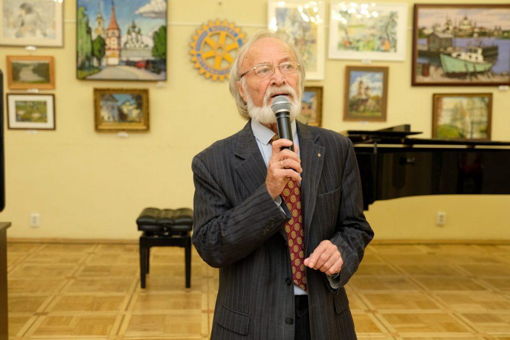 Камиль Козаев - ротари-клуб Москва-Восток  рассказывает о глобальных и локальных благотворительных проектах Ротари
