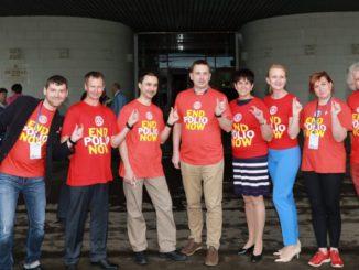 Ротарианцы разных ротари-клубов поддерживают глобальный проект polio-plus